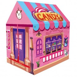 BrIQs - Kids In/Outdoor Candy Shop Playhouse Play Tent