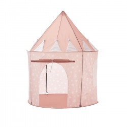 Unboxed Deal - BrIQS - Kids In/Outdoor Peach Castle Playhouse Play Tent