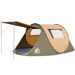 Hewolf 4 person instant pop up tent Ultra lightweight